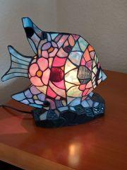 Tiffany Lampe Fisch