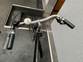Herrenrad Steinweg - schwarz mit Dynamo: Kleinanzeigen aus Nürnberg Rennweg - Rubrik Herren-Fahrräder