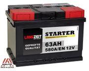 Langzeit Autobatterie 63Ah 12V