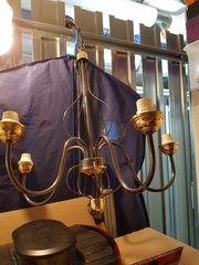 fünfarmige Lampe