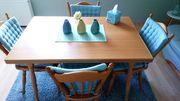 Esstisch gepflegt mit 4 Stühlen