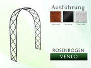 Eisen- Metall- Gartenbogen VENLO Breite