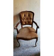 Stuhl - Barock Alt Vintage - Esszimmerstuhl -