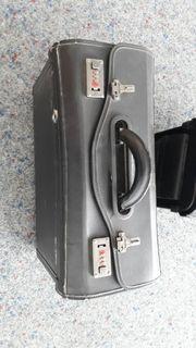 Pilotenkoffer Lederkoffer zu verkaufen
