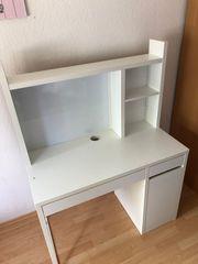 IKEA Micke Schreibtisch weiss 140x105x50