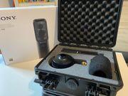 Sony C100 HiRes Dual-Großmembran-Kondensator Mikrofon