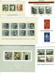 19 postfrische Blöcke Bundesrepublik und