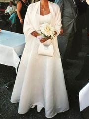 Exklusives Brautkleid 2-tlg mit Neckholder-Top