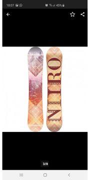 Snowboard Nitro Mercy 2018 Damen