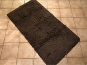 Teppich braun Langflor