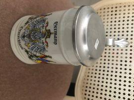 Bierkrug mit Zinndeckel 0 5: Kleinanzeigen aus Ketsch - Rubrik Sonstige Sammlungen