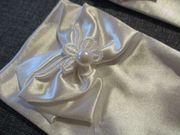 neu festliche mädchen-handschuhe weiß schleife