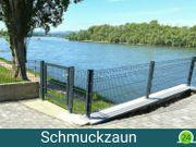 Schmuckzaun Raute Doppelstab Gartenzaun 26m