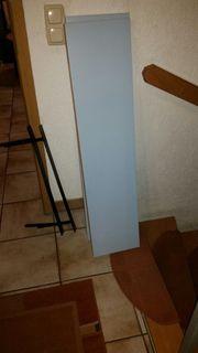 2 Wandregale Ikea Lack hellblau