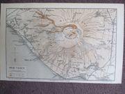 Vulkan Vesuf ITALIEN Original 1895