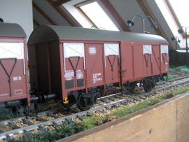 Bild 4 - Modellbahn Spur 1 MBW Güterwagen - Neustadt Mußbach