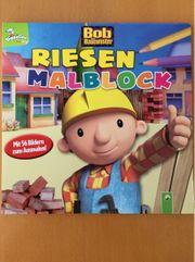 Bob der Baumeister Riesenmalblock
