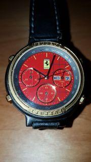 Ferrari Armbanduhr Chronograph Rarität mit