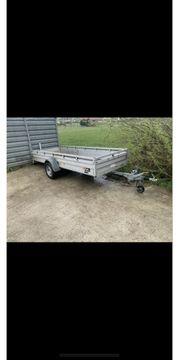 Anhänger 1300kg 4m Ladefläche