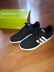 Adidas neo schwarz weiß neu