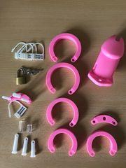Keuschheit Käfig Pink