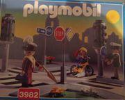 Playmobil 3982 Straßenkreuzung mit Ampeln