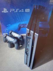 Playstation 4 mit 4 spielen