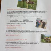 Ferienprogramm mit Pferden