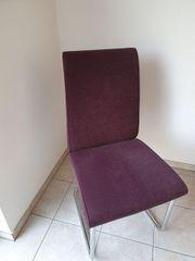 Neuwertig 4 HÜLSTA Stühle Polsterstühle