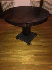 Biedermeier Tisch rund