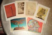 6 Lithografien Radierungen handsigniert Wunderlich