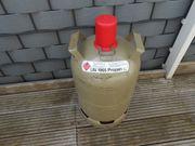 11 Kg Propangasflasche in grau