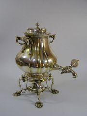 Silber 84 Samowar vergoldet Khlebnikov-Silver