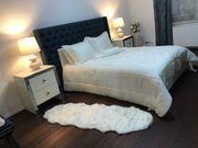 Tagesdecke Bettüberwurf beige creme weiß