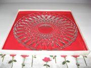 Kuchen Tortenplatte Glas - neuwertig