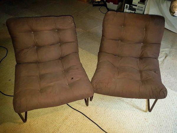 2 Sessel braun für je