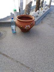 Blumentopf Terracotta Spanien