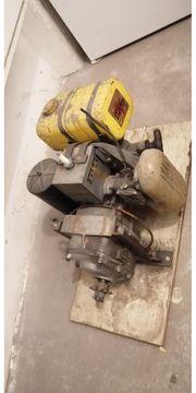 Seilwinde 2-Takt-Motor Motor mit Getriebe