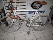 Indienrad Racer Rennrad weiß RH