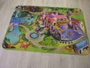 Kinderteppich Spielteppich Mädchen Spielteppich Prinzessin