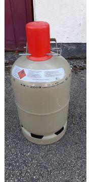 Leere 5-kg-Gasflasche