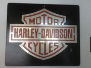 Harley Davidson Logo Emblem aus