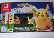 Nintendo Switch Pikachu Evoli Edition