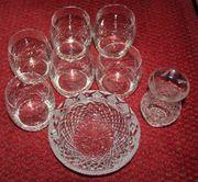 Schale Gläser Vase