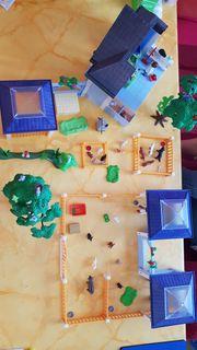 Playmobil Tierarztpraxis mit Erweiterung viele