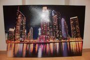Wandbild Skyline XXL ca 117x78