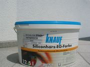 KNAUF Siliconharz-EG-Farbe für Fassade Flieder
