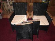 2 4 6 Rattan-Sessel Gartenmöbel