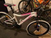 Mountainbike für Mädchen in pink