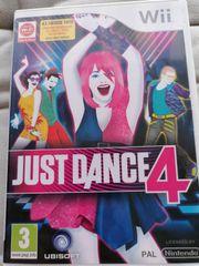 Wii Spiel Just Dance 4